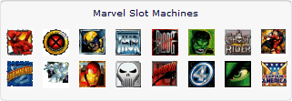 Marvel Jackpot Slot Machines