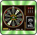 Bulls Eye Wheel of Fortune slotmachine