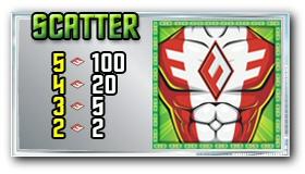 Fearless Frederick Slotmachine Scatter Bonus Symbol