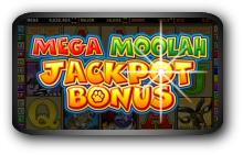 Mega Moolah Slotmachine Screenshot