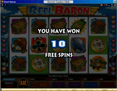 Reel Baron 10 Free Spins