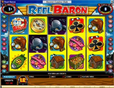 Reel Baron Free Spin 1X
