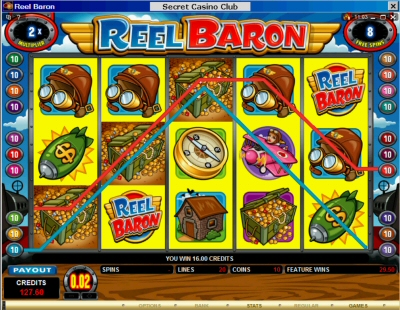 Reel Baron Free Spin 2X