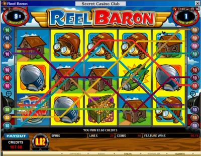 Reel Baron Free Spin 9X
