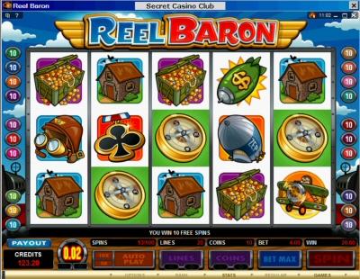 Reel Baron Free Spin Bonus