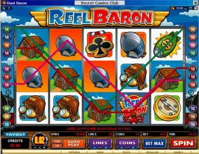 Reel Baron Perfect House Combination