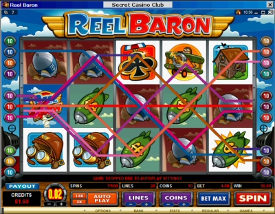 Reel Baron Good Payouts and Spins