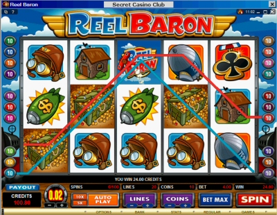 Reel Baron 4xTreasure Combination