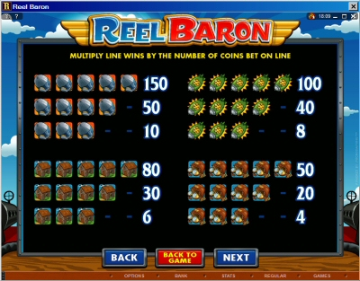 Reel Baron Low payouts