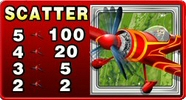 Stunt Pilot slot machine scatter symbol