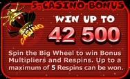 Bonus 5: Casino Bonus