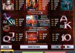 Free Blade Marvel Slot Machine Game Paytable Symbols