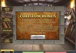 Free Gladiator Slot Machine Game Coliseum Bonus Info
