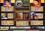 Free Gladiator Slot Machine Game Paytable Symbols