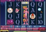 Free Pink Panther Slot Machine Game Free Spin with Expanded wild on reel 3