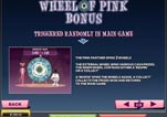 Free Pink Panther Slot Machine Game Paytable Pink Wheel Bonus