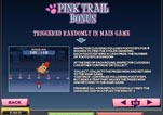 Free Pink Panther Slot Machine Game Paytable Pink Trail Bonus