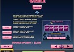 Free Pink Panther Slot Machine Game Paytable GAMBLE
