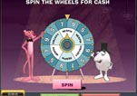 Free Pink Panther Slot Machine Game Wheel of Pink Bonus Start