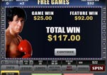 Free ROCKY Slot Machine Game Free Games Completed