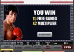 Free ROCKY Slot Machine Game Free Games Won