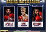 Free ROCKY Slot Machine Game Knockout Bonus Select Opponent