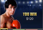 Free ROCKY Slot Machine Game Knockout Bonus Vs Clubber Completed