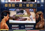 Free ROCKY Slot Machine Game Knockout Bonus Vs Clubber Knockout