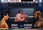 Free ROCKY Slot Machine Game Knockout Bonus Vs Clubber Round 1