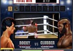 Free ROCKY Slot Machine Game Knockout Bonus Vs Clubber Round 2