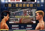 Free ROCKY Slot Machine Game Knockout Bonus Vs Ivan Round 10