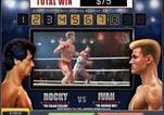 Free ROCKY Slot Machine Game Knockout Bonus Vs Ivan Round 8
