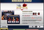 Free ROCKY Slot Machine Game Paytable Knockout Bonus