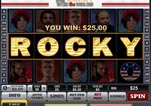 Free ROCKY Slot Machine Game ROCKY Bonus completed