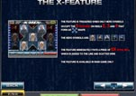 Free Marvel X-Men Slot Machine Game Paytable Page 2 - The X Feature