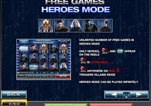 Free Marvel X-Men Slot Machine Game Paytable Page 4 - Free Games Heroes mode
