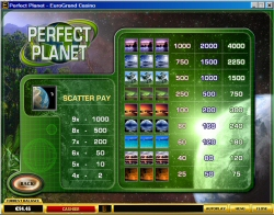 Perfect Planet Casual Slot Machine