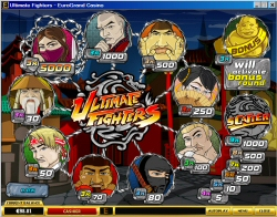 Ultimate Fighters Casual Slot Machine
