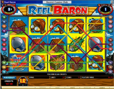 free baron slot machine