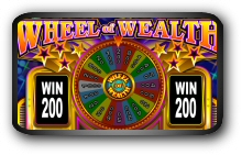 Spectacular Wheel of Wealth Slotmachine Screenshots