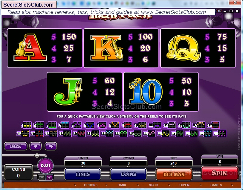 slot machine payouts