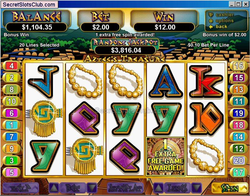 Aztecs Treasure Slot Machine Online ᐈ RTG™ Casino Slots
