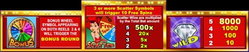 Wheel of Chance Bonus Symbols