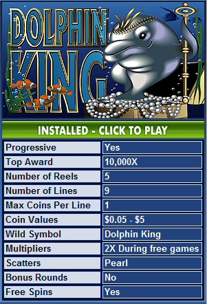 Dolphin King Slot Machine