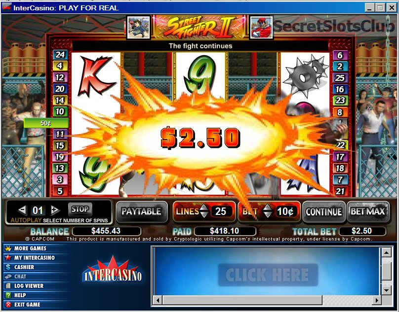Street Fighter™ Slot Machine Game to Play Free in Cryptologics Online Casinos